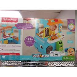 FISHERPRICE SERVIN' UP FUN FOOD TRUCK