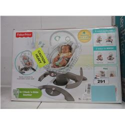 FISHERPRICE 4-IN-1 ROCK 'N GLIDE SOOTHER