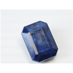 LARGE BLUE SAPPHIRE (58CT) (26X19MM).