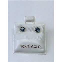 10KT. GOLD SAPPHIRE (0.68CT) EARRINGS