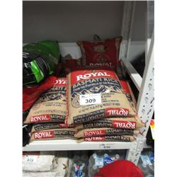 10 BAGS OF ROYAL 20LB BASMATI RICE