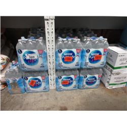 LARGE LOT OF 1.5L BOTTLES OF NESTLE PURELIFE WATER