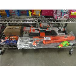LOT OF NERF GUNS & NERF AMMO