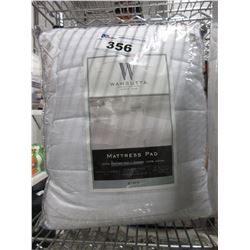 WAMSUTTA KING SIZE MATTRESS PAD