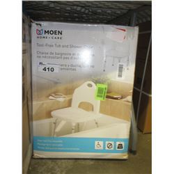 MOEN TOOL-FREE TUB & SHOWER CHAIR