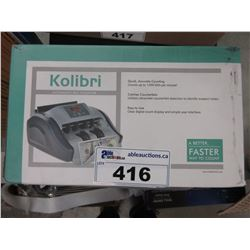 KOLIBRI AUTOMATIC BILL COUNTER