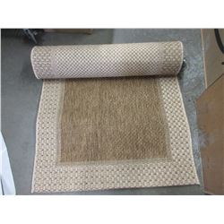 BEIGE CARPET RUNNER