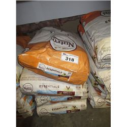 4 - 30LB BAGS OF NUTRO LARGE BREED DOG FOOD