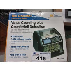 ROYAL SOVEREIGN VALUE COUNTING PLUS BILL COUNTER