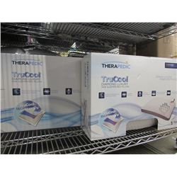 KING & QUEEN SIZED THERAPEDIC TRUCOOL DIAMOND LUXURY PILLOWS