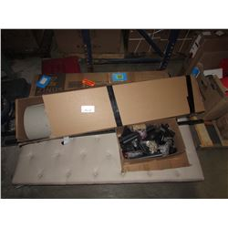 PALLET OF ASSORTED FURNITURE (SOME MISSING HARDWARE, ETC)