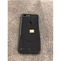 APPLE IPHONE 8 PLUS, BLACK, PASSCODE/ICLOUD UNLOCKED, CAPACITY UNKNOWN, SCREEN HAS ISSUES, AS-IS