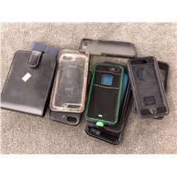 LOT OF ASSORTED PHONE CASES