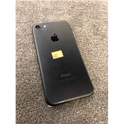 APPLE IPHONE 7, BLACK, PASSCODE/ICLOUD UNLOCKED, CAPACITY UNKNOWN, AS-IS