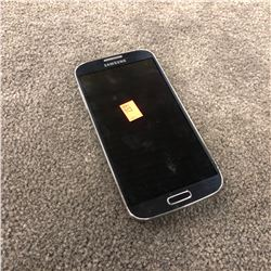SAMSUNG GALAXY S4, CAPACITY UNKNOWN, AS-IS