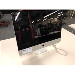APPLE IMAC 21.5'' COMPUTER, SERIAL NUMBER QP0262LH5PK, NO HARD DRIVE, AS-IS