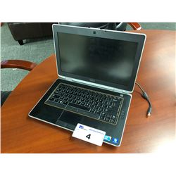 DELL LATITUDE E6420 LAPTOP COMPUTER, INTEL CORE I5 PROCESSOR, NO HARD DRIVE, AS-IS