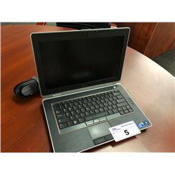 DELL LATITUDE E6420 LAPTOP COMPUTER, INTEL CORE I5 PROCESSOR, NO HARD DRIVE, AS-IS