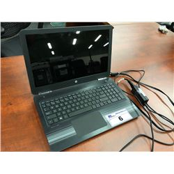 HP PAVILION LAPTOP COMPUTER, NO HARD DRIVE, AS-IS