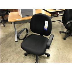 BLACK FULLY ADJUSTABLE TASK CHAIR (S2)