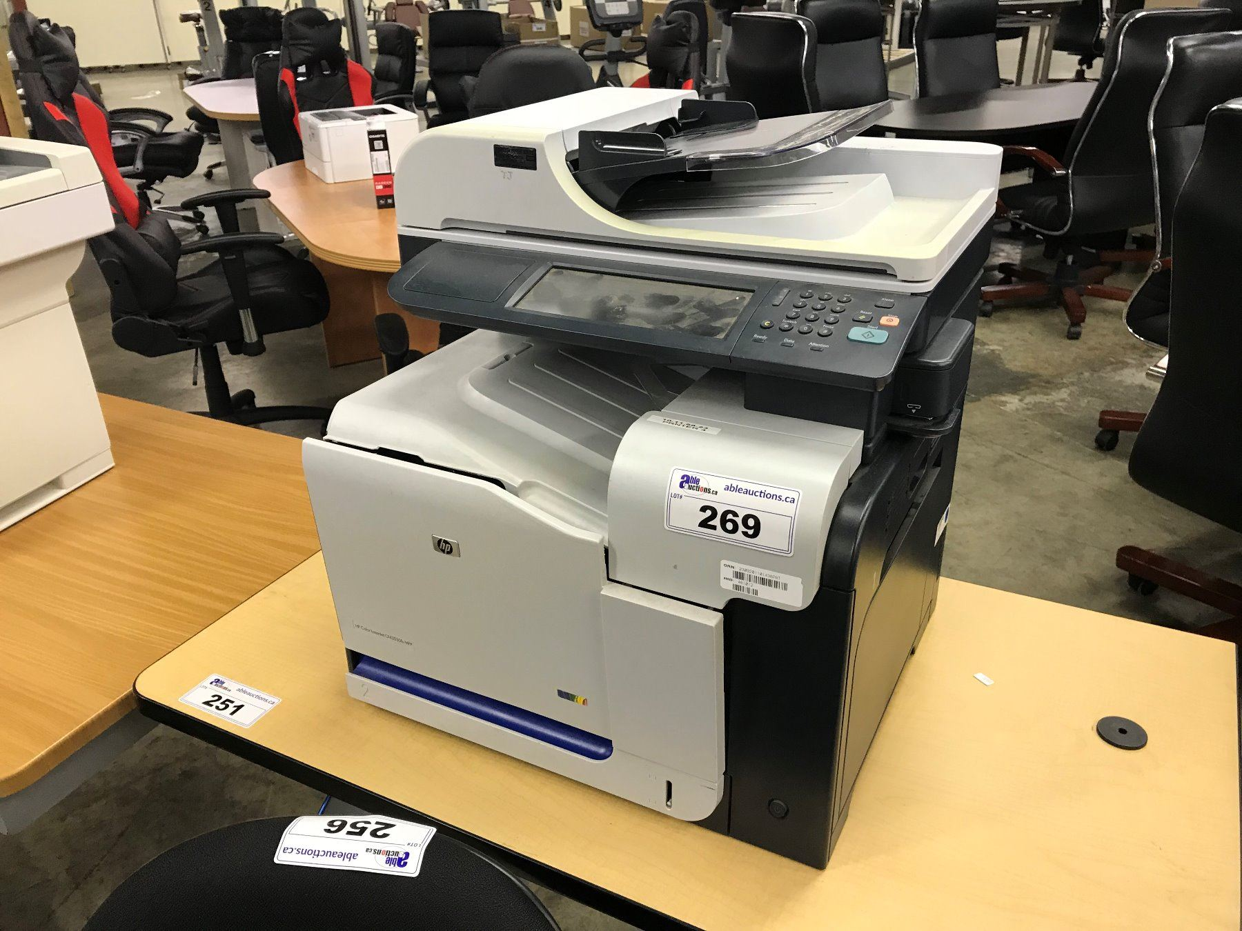 hp colour laserjet m3035fs multifunction printer (no toner)