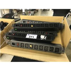 LARGE LOT OF APPROX. 20 BOXES OF 10 POWER DISTRIBUTION  UNITS