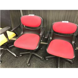 RED FLEX-BACK TASK CHAIR