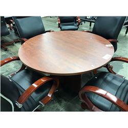 """CHERRY 42"""" ROUND TABLE"""