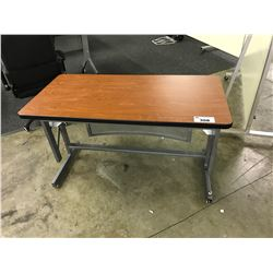 ADJUSTABLE HEIGHT UTILITY TABLE (S1)