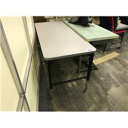 ADJUSTABLE HEIGHT UTILITY TABLE (S3)
