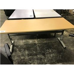 ADJUSTABLE HEIGHT UTILITY TABLE (S5)