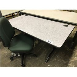 ADJUSTABLE HEIGHT UTILITY TABLE (S6)