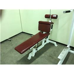 SIT UP/PRESS/ FLYE WEIGHT BENCH