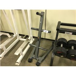 WEIGHT RACK.