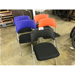 5 MISC. NESTING CHAIRS