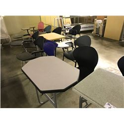 LOT OF 11 MISC. STUDENT CHAIRS