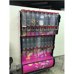 18 COMPARTMENT BULK CANDY DISPENSOR