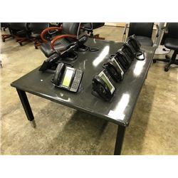BLACK MATRIX 5X4' ADJUSTABLE TABLE
