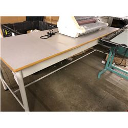 8X3' WORK TABLE