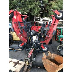 2005 BUHLER XT650 MOWER, RED, VIN # 2800565, NO ICBC DECLARATIONS, HAS BC REGISTRATION, *MUST