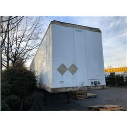 1996 FRUEHAUF 53FT TRAILER, WHITE, VIN # 1H2V05325TE011929