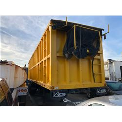 2007 K-LINE VIN # 2K9DP34127L052273 MODEL DEMOLITION 4579 42' DEMOLITION OPEN TOP