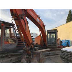 HITACHI ZX200E SER # 1GEP102576 HYDRAULIC CRAWLER EXCAVATOR WITH TRIPLE GROUSER
