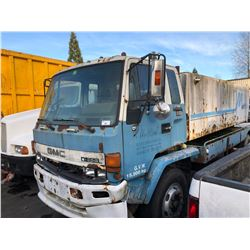 1987 GMC 7000 FORWARD VACUUM TRUCK, BLUE,   VIN # J8DM7A1S2H3200955