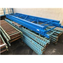 ASSORTED PALLET RACKING UPRIGHTS