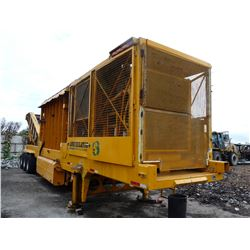 CONTINENTAL BIOMASS INDUSTRIES 2004 CBI MODEL CBI ANNIHILATOR SER # 42120SC163A0040, TRI AXLE