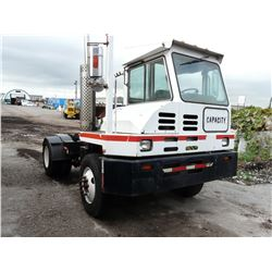 "2003 CAPACITY MODEL TJ 5000 VIN #4LMBB211X3L014074 116"" WHEEL BASE SHUNT TRUCK WITH 3 SPEED"