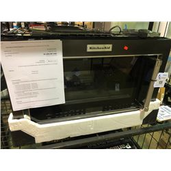 KITCHENAID YKMHP519ES BLACK STAINLESS STEEL CONVECTION  COMBINATION MICROWAVE HOOD COMBINATION