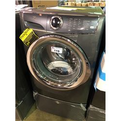 CHARCOAL ELECTROLUX LUXCARE SMARTBOOST EFLS627UTT0  FRONT LOADER  CLOTHES WASHER WITH  MATCHING
