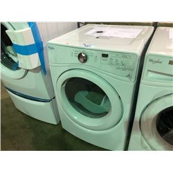 WHITE WHIRLPOOL HE SENSOR DRYING YWED75HEFW1 CLOTHES DRYER